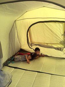 トンネル2ルームテント