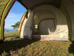 テントファクトリー トンネル2ルームテント
