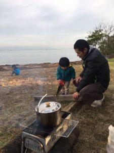 キャンプに見る子供たちの成長
