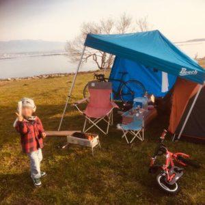 子供とキャンプ遊び