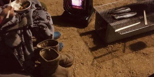 激安なカセットガスストーブを冬の屋外や冬キャンプで使ってみた!