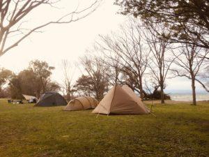 琵琶湖岸緑地「南三ツ谷公園」はファミリーキャンプに良いところ!