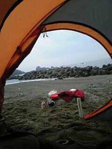 神島キャンプ [13年前の掘り起こし記事]