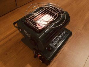 カセットガスストーブ WEIMALL A64N が届いた!暖かさをチェーック!!