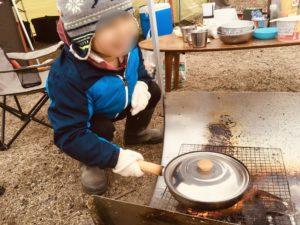 今年初キャンプ!親子&友人で琵琶湖の吉川緑地でキャンプしてきた。