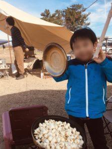 食材の準備をちゃんとしてなかった時のキャンプ飯。