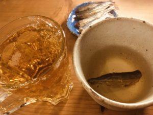 焼きアゴと日本酒とビール