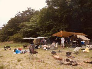 3家族でファミリーキャンプ