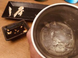 氷下魚(こまい)開かんかい